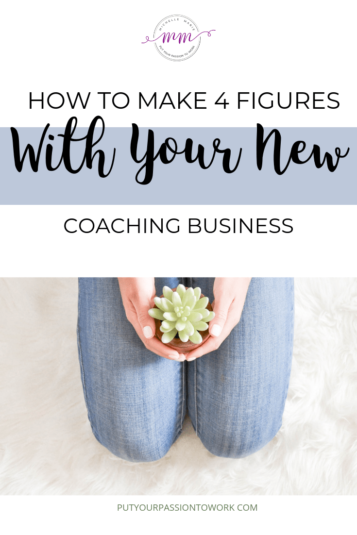 how to make 4 figures coaching